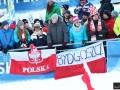 Polscy kibice w Bischofshofen (fot. Julia Piątkowska)