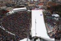 Kibice na 'Bergisel' w Innsbrucku (fot. Julia Piątkowska)