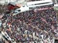 Kibice na trybunach 'Bergisel' w Innsbrucku (fot. Julia Piątkowska)