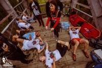 """Bieg """"Kill the Devil Hill"""" na skoczni Orlinek w Karpaczu (fot. materiały prasowe organizatora / killthedevilhill.pl)"""