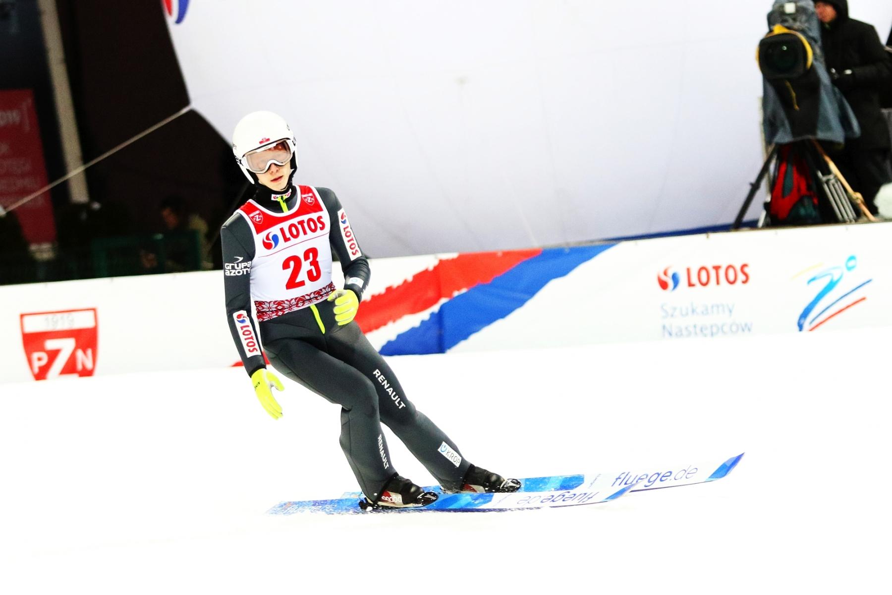 """fis cup szczyrk2021 2konkurs fotjuliapiatkowska 40 - Adam Niżnik: """"Z plecami jest okej. Dyspozycji nie oszukam, ale oczekuję czegoś większego"""""""
