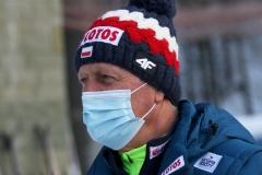 Trener Piotr Fijas (fot. Julia Piątkowska)