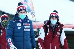 Trenerzy Grzegorz Miętus i Krzysztof Biegun (fot. Julia Piątkowska)