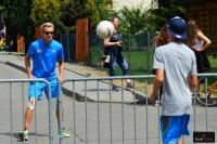 Austriaccy skoczkowie grający w piłkę, fot. Bartosz Leja