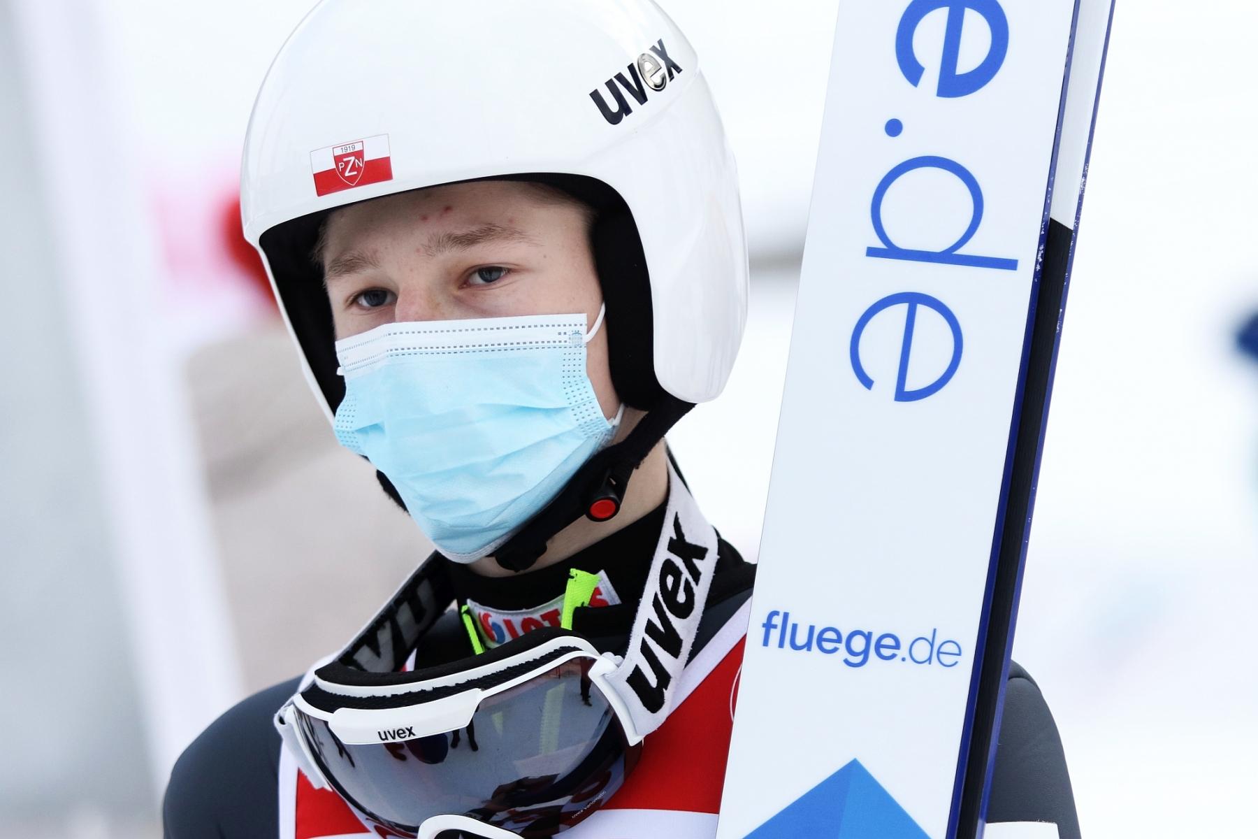 """FIS Cup Zakopane 2021 1konkurs fotJuliaPiatkowska 42 - Adam Niżnik: """"Z plecami jest okej. Dyspozycji nie oszukam, ale oczekuję czegoś większego"""""""