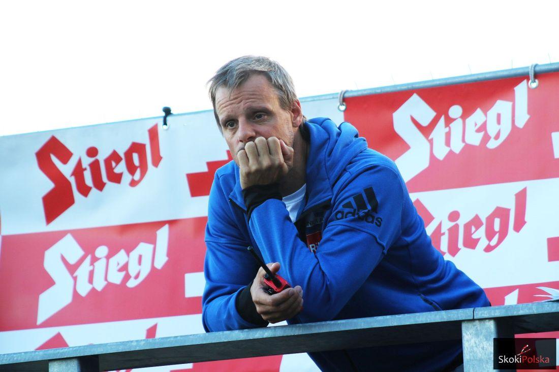 Trener Alexander Stoeckl (fot. Julia Piątkowska)