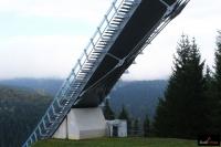 Rozbieg 'Schwarzbergschanze' w Klingenthal, fot. Julia Piątkowska