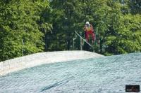 Klemens Murańka na skoczni w Wiśle, fot. Bartosz Leja