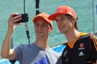 Stephan Leyhe i Andreas Wank, fot. Bartosz Leja