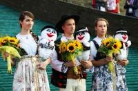 Wolontariusze z nagrodami dla najlepszych w Wiśle (fot. Julia Piątkowska)