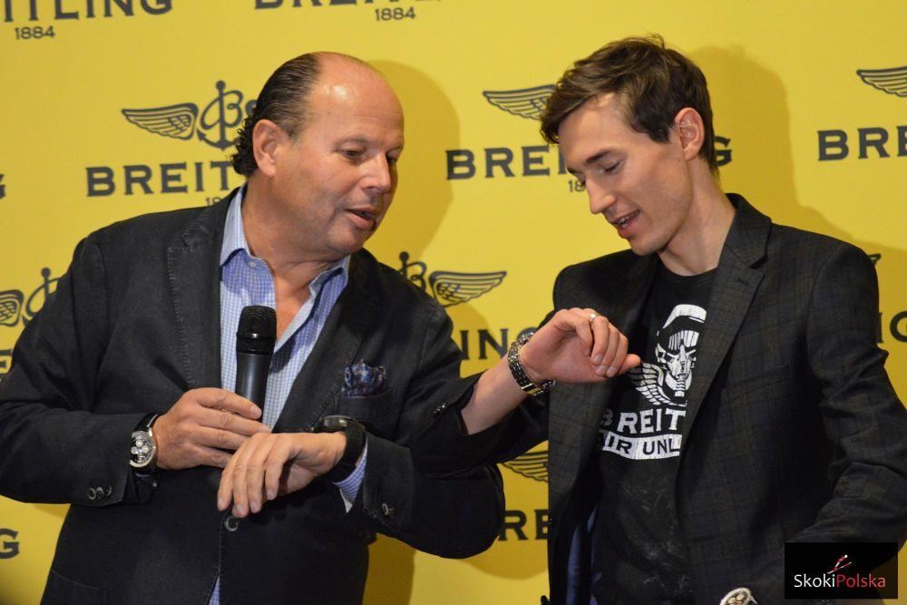 DSC 0103 - Kamil Stoch ambasadorem szwajcarskiej firmy Breitling