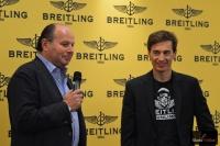 Peter Kellner (z firmy Breitling) z Kamilem Stochem, fot. Bartosz Leja