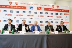 Konferencja przed PŚ w Zakopanem i Wiśle w 2016 r.