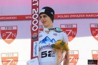 Alex Insam na podium, fot. Julia Piątkowska