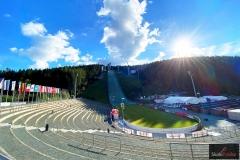 Vogtland Arena w Klingenthal (fot. Julia Piątkowska)