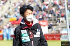 Trener Hideharu Miyahira (fot. Julia Piątkowska)