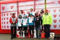 Czołowa szóstka LMP kobiet w Szczyrku z oficjelami (fot. Julia Piątkowska)