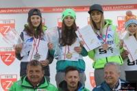 Podium konkursu (na podium od lewej: K.Rajda, A.Twardosz, M.Pałasz), fot. Julia Piątkowska