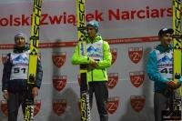 Podium konkursu (od lewej: K.Stoch, M.Kot, K.Murańka), fot. Julia Piątkowska