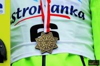 Złoty medal mistrzostw Polski, fot. Julia Piątkowska