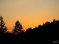 Zachód Słońca w Wiśle Malince, fot. Bartosz Leja
