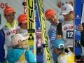 Niemcy na podium (Leyhe, Freitag, Wank, Wellinger), fot. Bartosz Leja