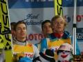 Polacy na podium (Żyła, Stoch, Kot, Kubacki), fot. Bartosz Leja