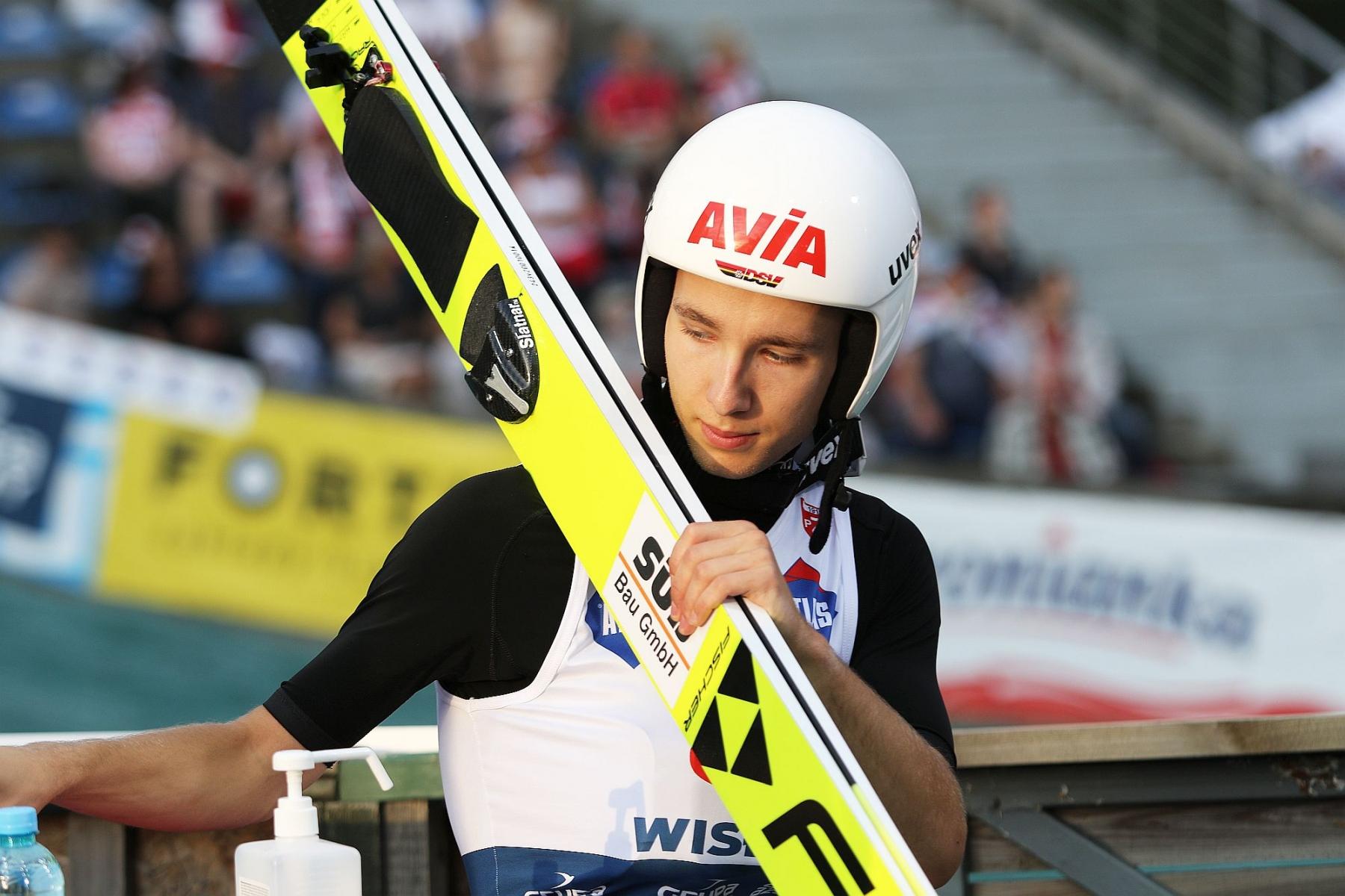 LGP Wisla2020 2konkurs fot 107 - Hamann wygrywa w Berchtesgaden, Zajc i Klinec w Kranju. Krajowe konkursy Niemców i Słoweńców