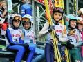 Młodzi skoczkowie w Szczyrku (fot. Anna Karczewska)