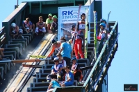 Zawodnicy na skoczni we Frenstacie, fot. Julia Piątkowska