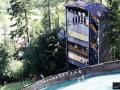 Wieża sędziowska na skoczni we Frenstacie, fot. Julia Piątkowska
