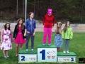 Podium w kategorii żeńskiej OPEN II (od lewej na podium: Nikola Pietraszko, Paulina Cieślar, Anna Milerska), fot. Mikołaj Szuszkiewicz