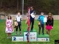 Podium w kategorii junior D (od lewej na podium: Robert Ryś, Petr Vaverka, Michał Martynek), fot. Mikołaj Szuszkiewicz