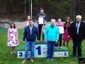 Podium w kategorii żeńskiej OPEN I (od lewej na podium: Kamila Karpiel, Joanna Kil, Klara Urlichova), fot. Mikołaj Szuszkiewicz