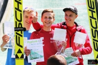 Podium konkursu (od lewej: K.Leja, K.Miętus, K.Murańka), fot. Julia Piątkowska