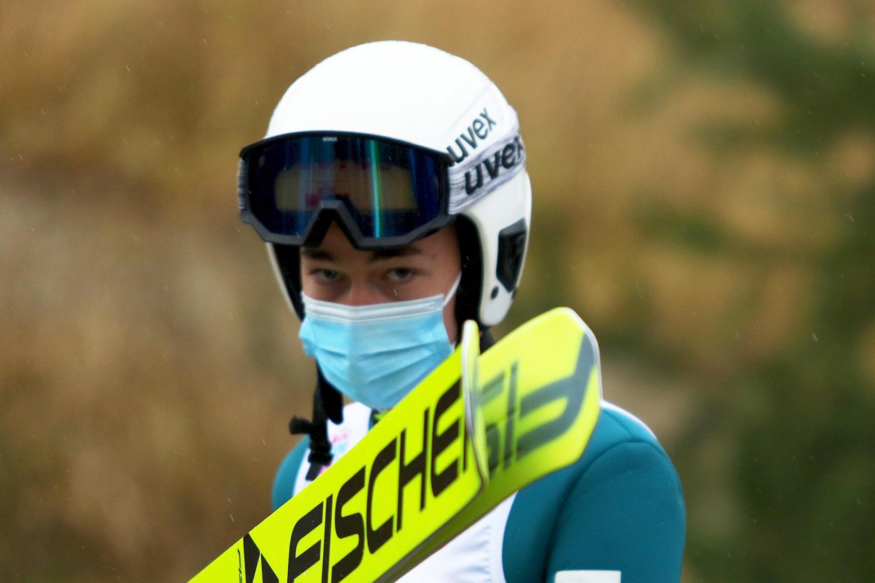 MistrzostwaPolski Wisla2020 Panowie fot 5 - FIS Cup Villach: Ortner zwycięzcą sobotniego konkursu, Polacy nie zachwycili
