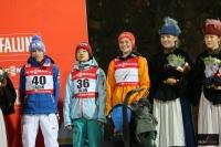 Najlepsza trójka konkursu (od lewej: Iraschko-Stolz, Ito, Vogt), fot. Julia Piątkowska)
