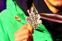 Srebrny medal Andreasa Wellingera (fot. Julia Piątkowska)