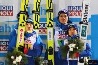 Japończycy na podium (fot. Julia Piątkowska)