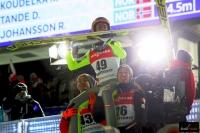 Manuel Fettner, Stefan Kraft i Gregor Schlierenzauer (fot. Julia Piątkowska)