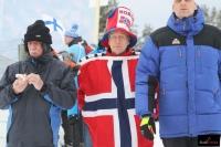 Norwescy kibice w Lahti (fot. Julia Piątkowska)