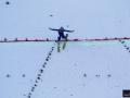 Skoczek na skoczni Salpausselka w Lahti (fot. Julia Piątkowska)