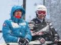 Simon Ammann (po lewej), fot. Julia Piątkowska)