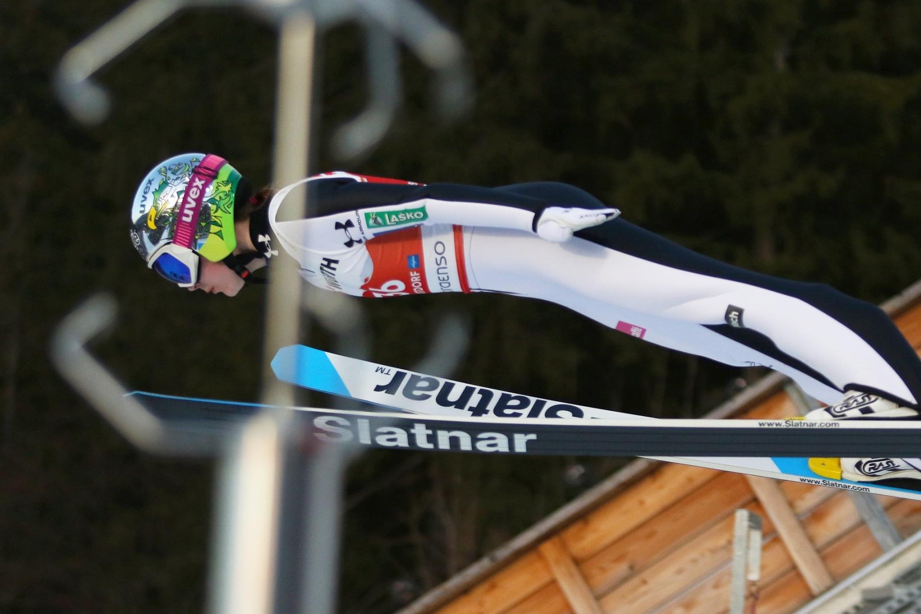 Mistrzostwa Swiata Oberstdorf2021 konkurskobiet normalhill fotJuliaPiatkowska 27 - MŚ Oberstdorf: Kramer odlatuje rywalkom w kwalifikacjach, komplet Polek w konkursie!