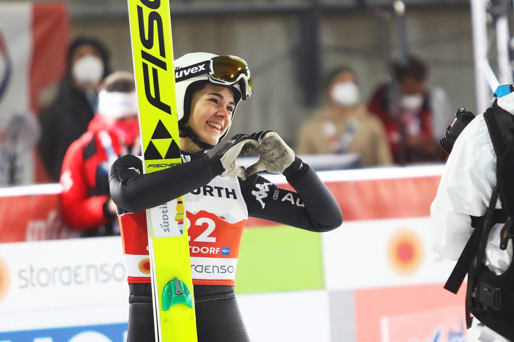 Mistrzostwa Swiata Oberstdorf2021 konkurskobiet normalhill fotJuliaPiatkowska 52 - Koniec sezonu dla sióstr Malsiner i kontuzja Manueli, w tle konflikt z włoską federacją