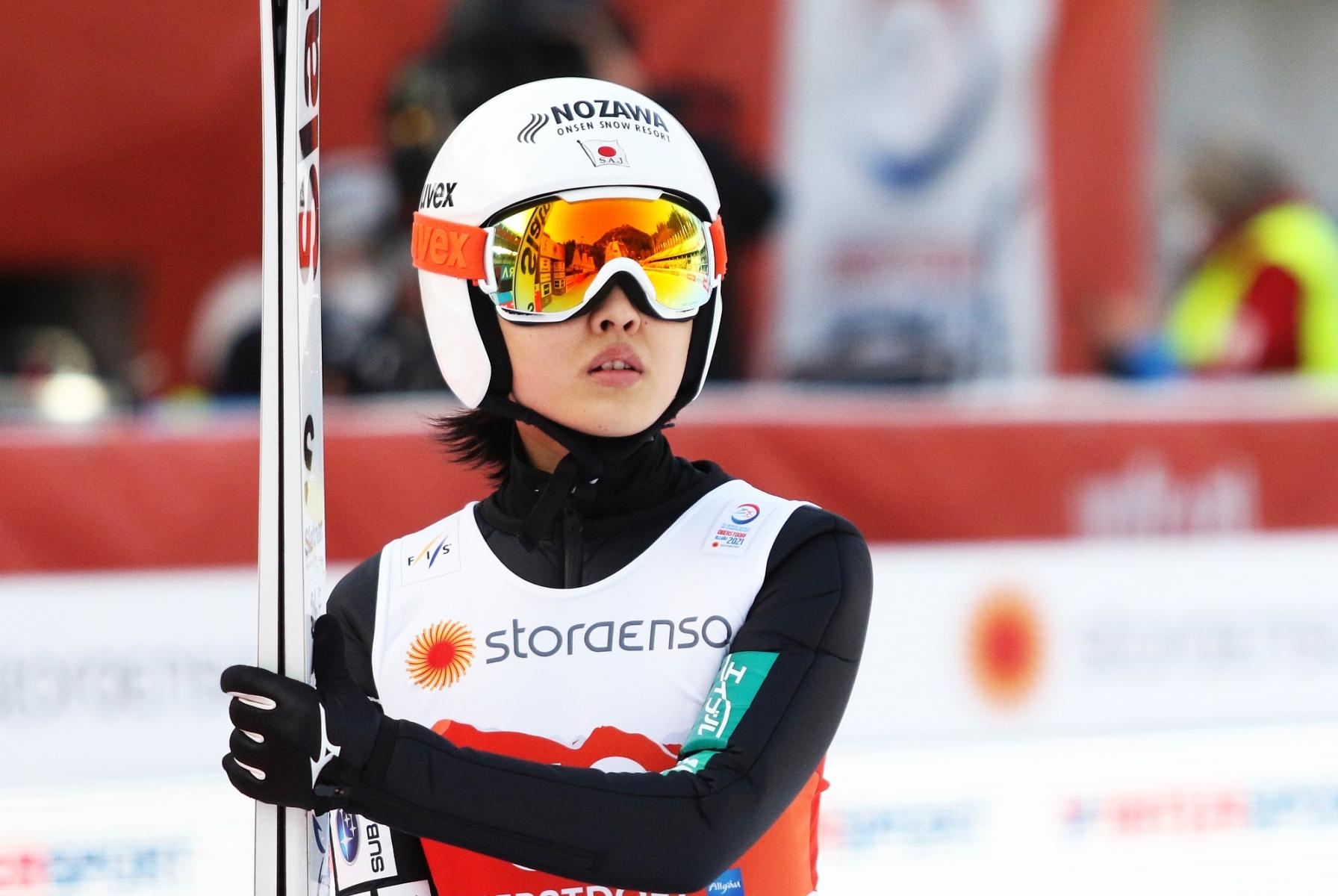 Mistrzostwa Swiata Oberstdorf2021 treningikobiet fotJuliaPiatkowska 11 - JAPONIA (skoczkinie)