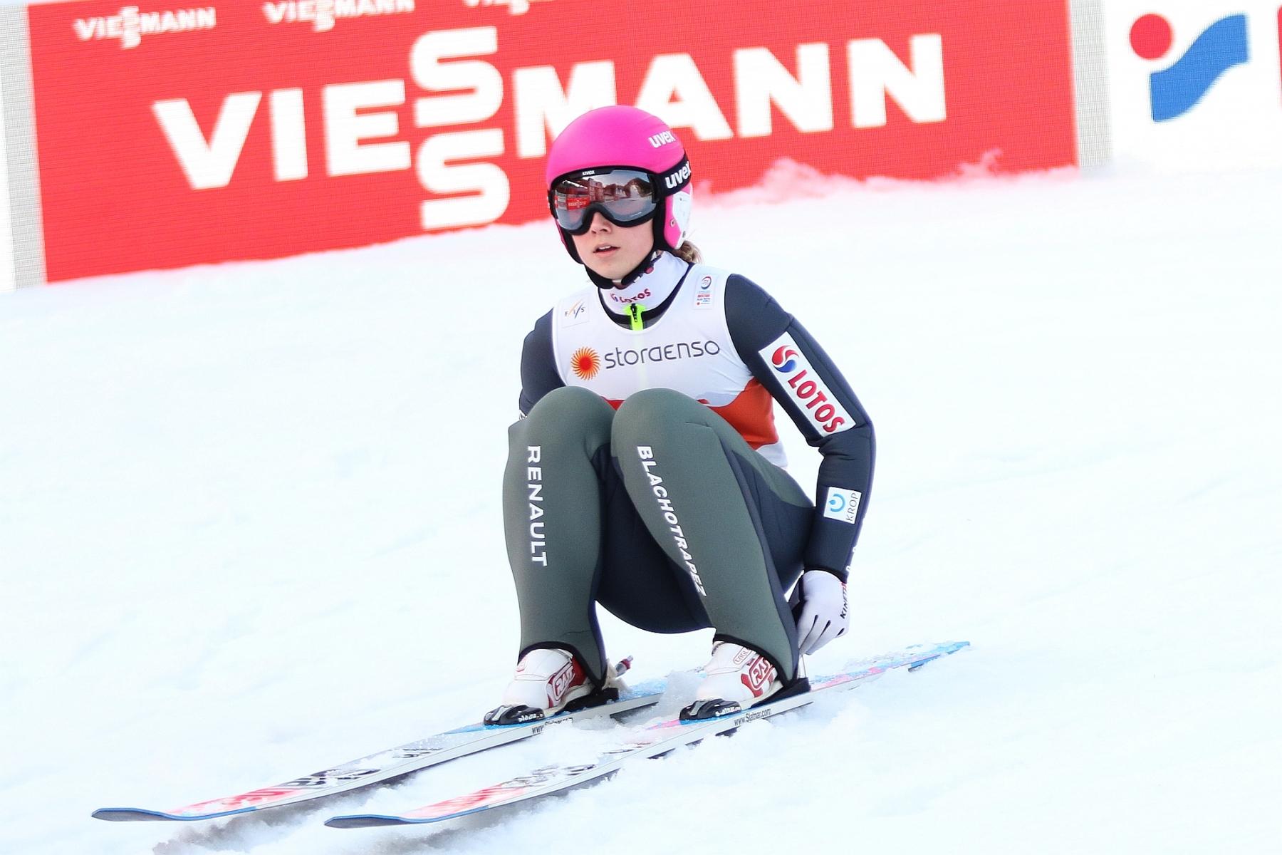 Mistrzostwa Swiata Oberstdorf2021 treningikobiet fotJuliaPiatkowska 48 - MŚ Oberstdorf: Seria próbna dla Lundby, Twardosz najwyżej z Polek