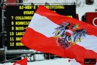 Austriacka flaga na Kulm, fot. Bartosz Leja