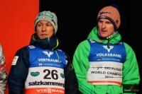 Noriaki Kasai i Severin Freund, fot. Bartosz Leja