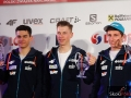 Jakub Wolny, Aleksander Zniszczoł i Krzysztof Biegun, fot. Julia Piątkowska